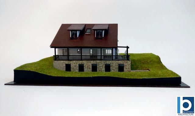 stunning mountain house model