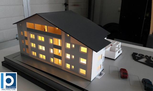 Apartment building model Arra