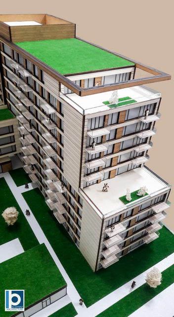 Apartment building models one