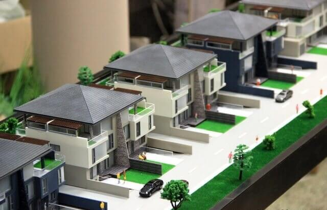 Housing scale model