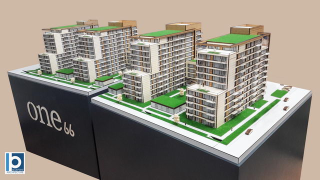 Residential Buildings Architectural Model