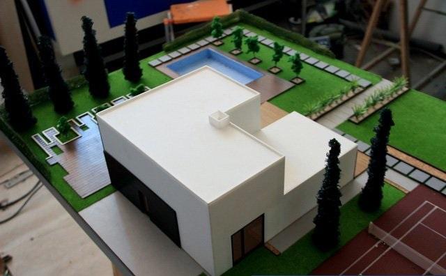 Scale Model Villa