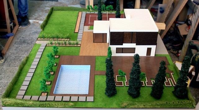 Vila Architectural Model