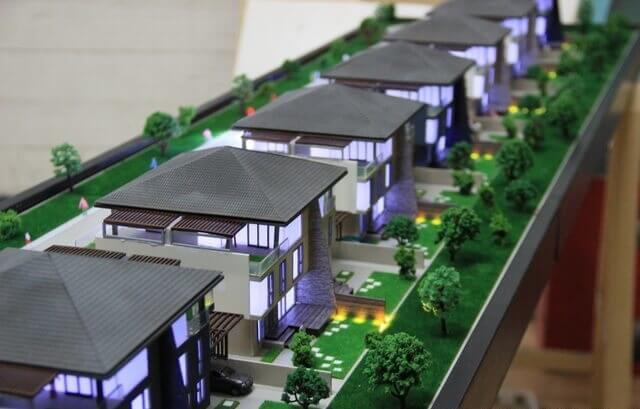 real estate complex model