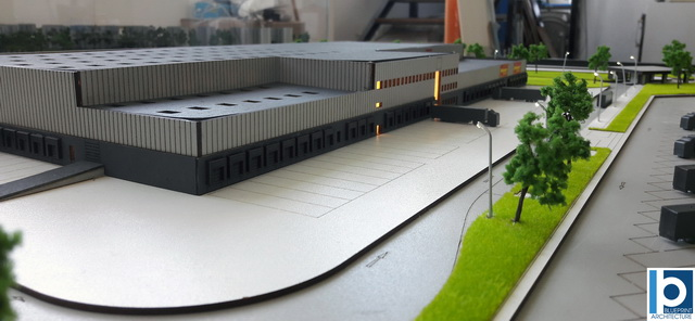 warehouse scale model