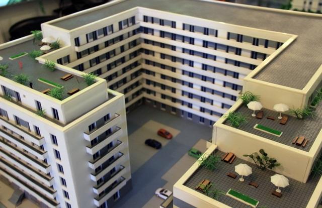 Apartment Building model