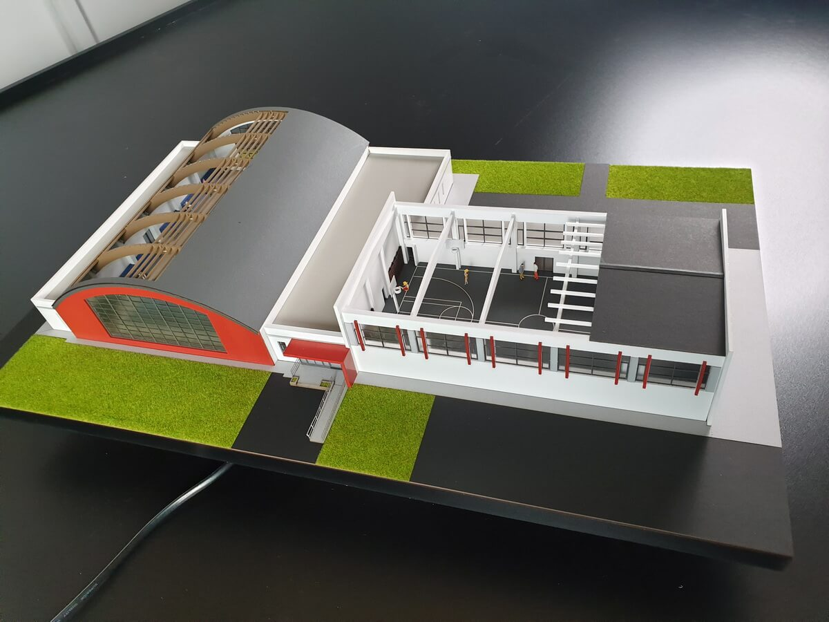 Multi Purpose Sports Hall Model