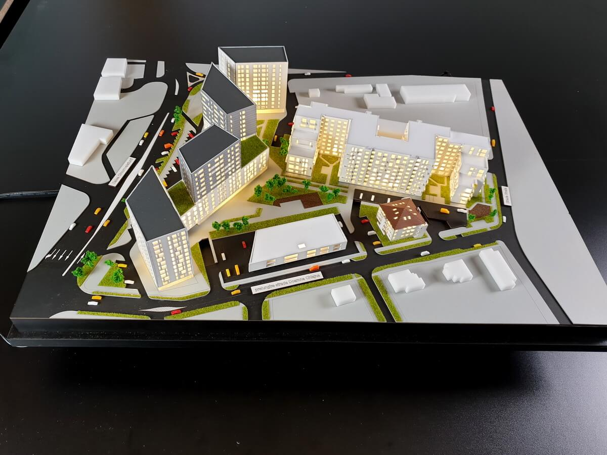 Residential District Model