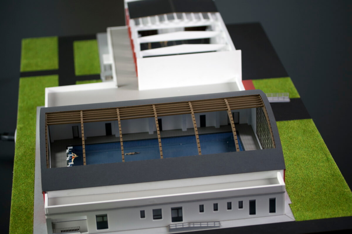 Sport Hall architectural model