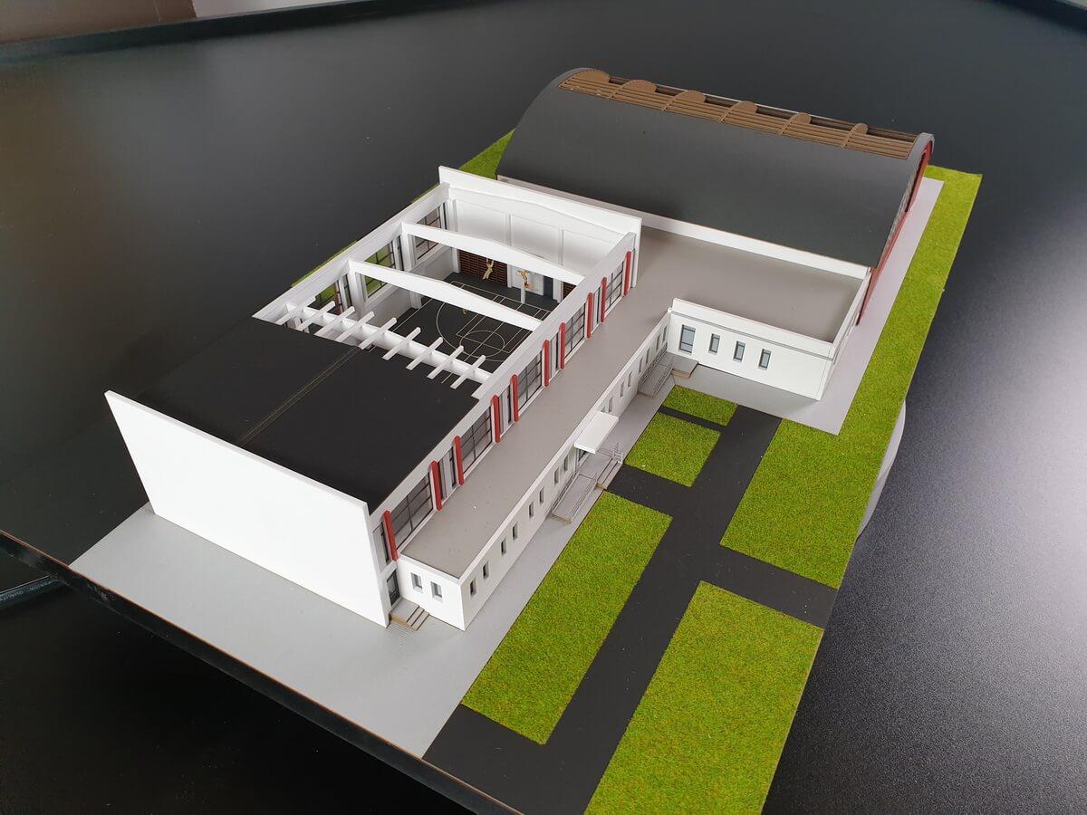 Sport Hall model