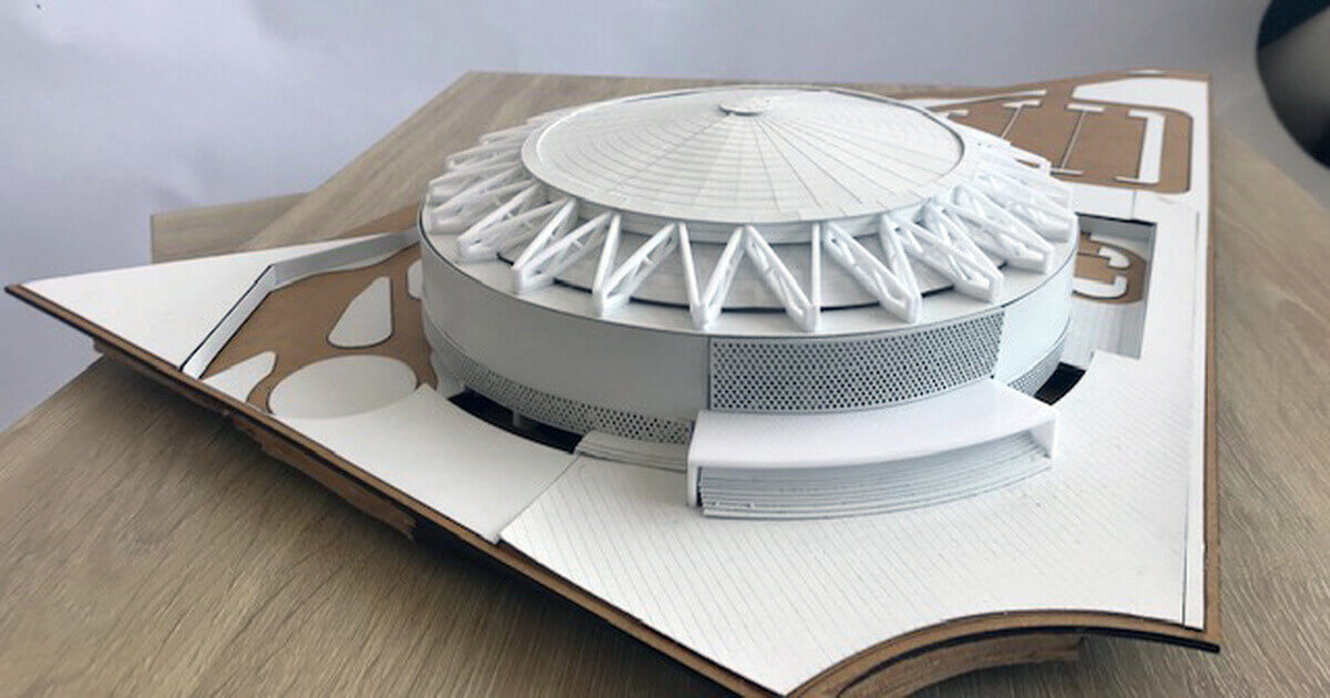 model for architectural competition