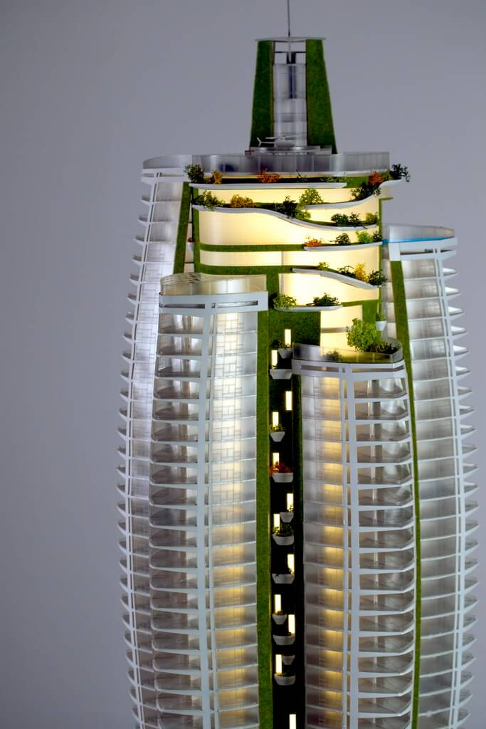 model of a Skyscraper
