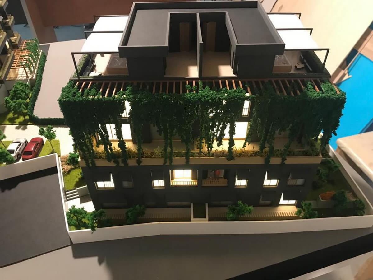Residential Building Architectural Model