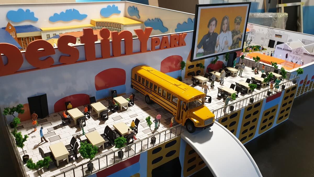 Scale Amusement Park Model