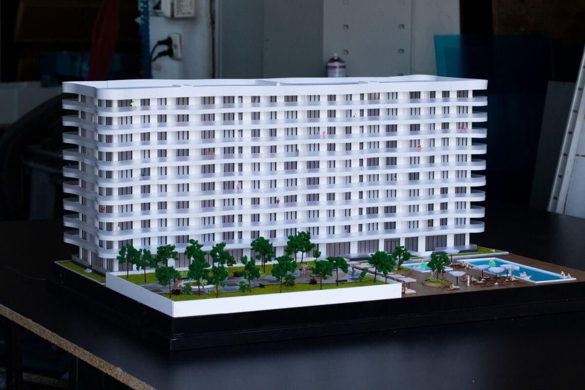 Hotel Architectural Model