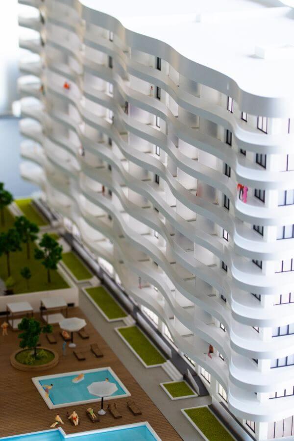 Hotel Scale Model