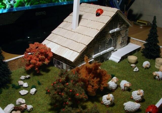 Mountain Cabin Model