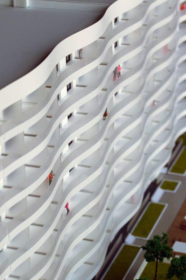 hotel model building