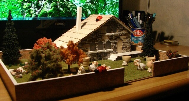 mountain house scale model