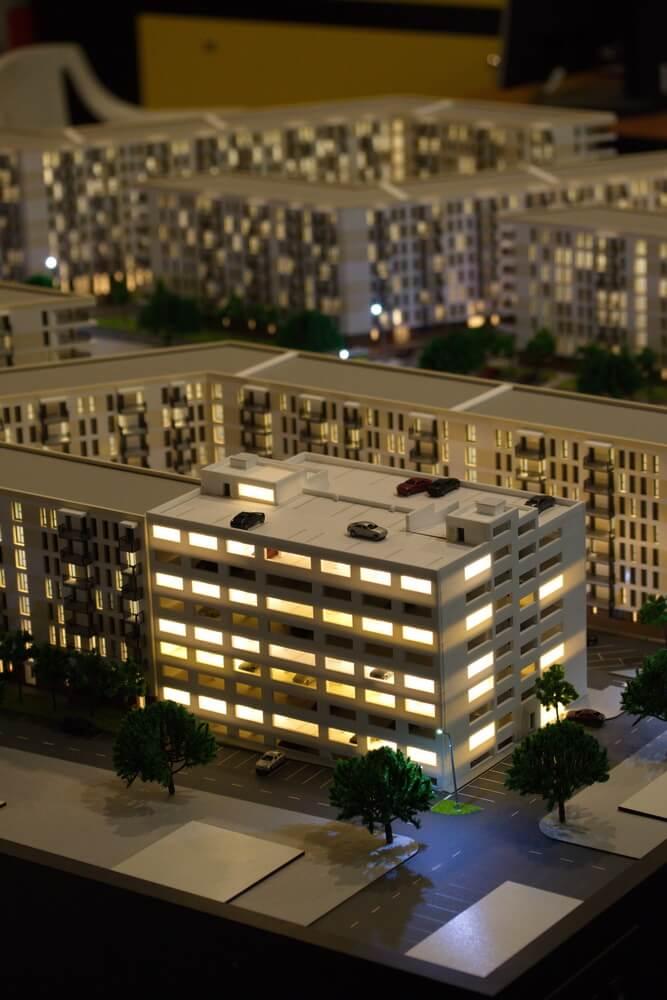 scale architectural model