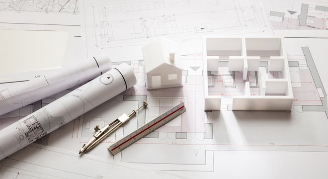 How to transform a sketch with an architectural model