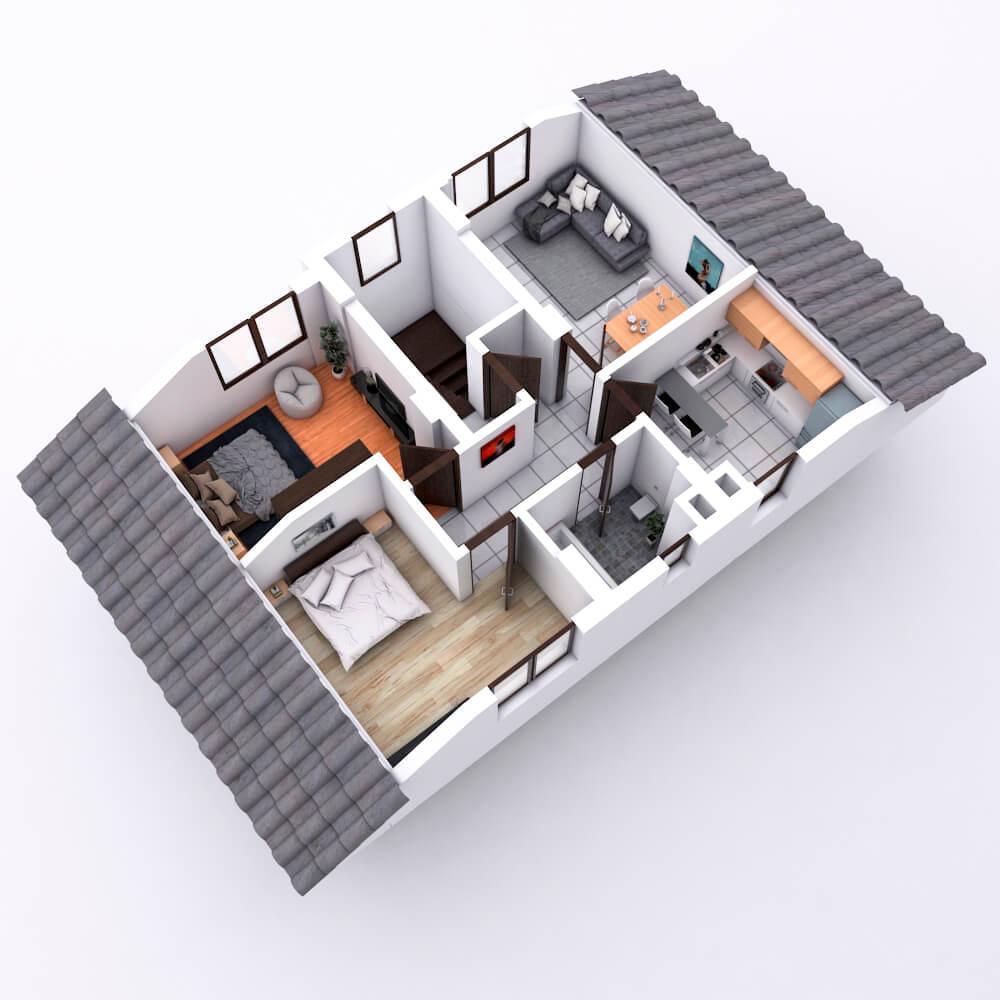 House Rendering 3D
