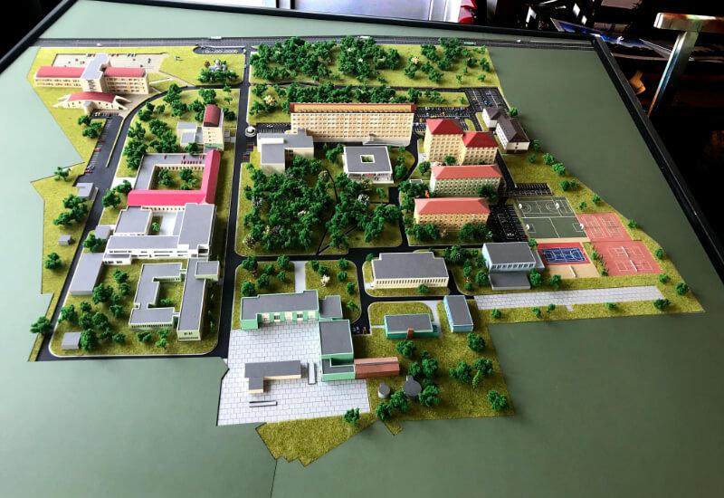 School Architectural Design Model
