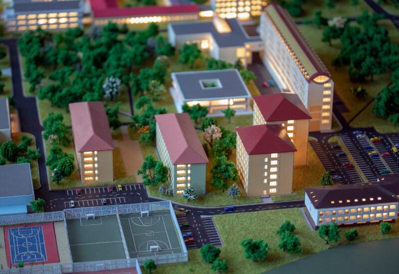 School Architectural Model