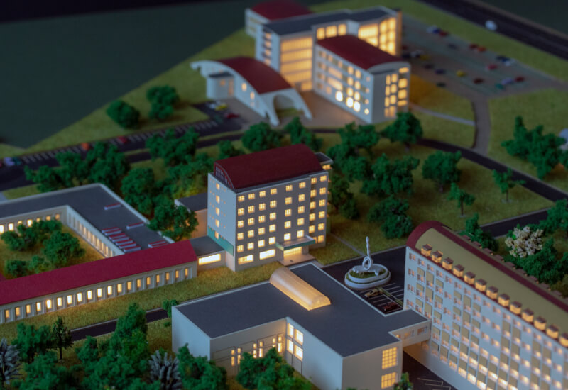 University Architectural Model