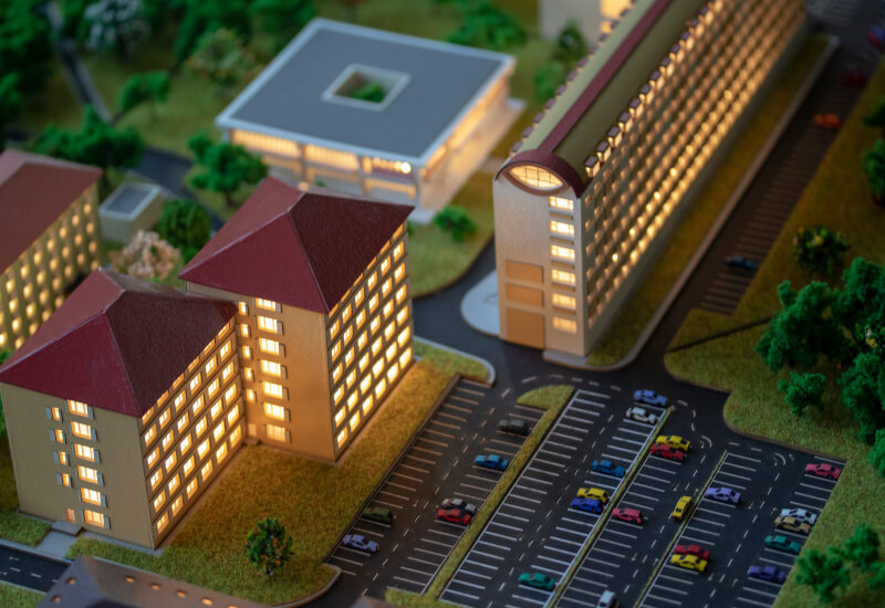 Campus Architectural Model