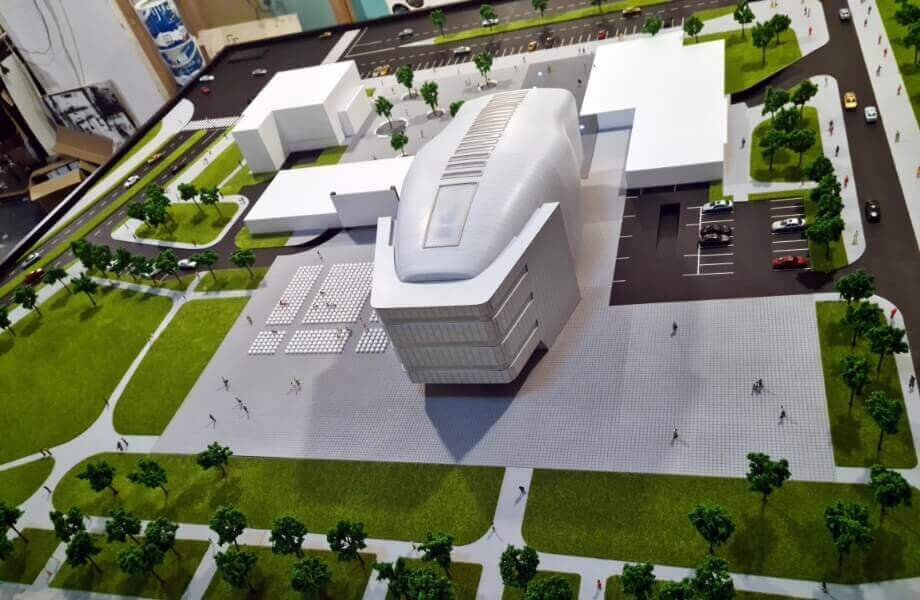 Cultural Center Arhitectural Model