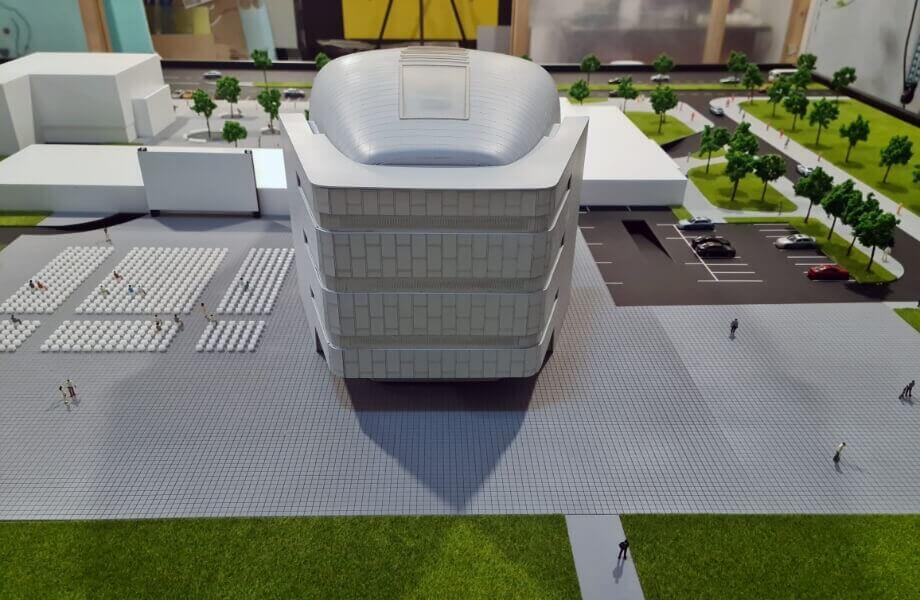 Cultural Center Arhitectural Scale Model