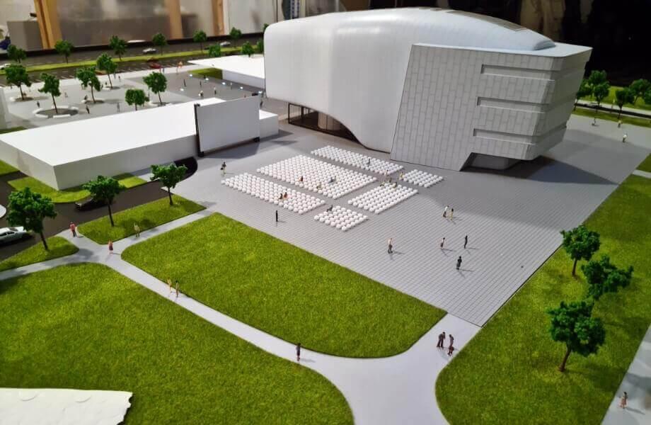 Cultural Center Model