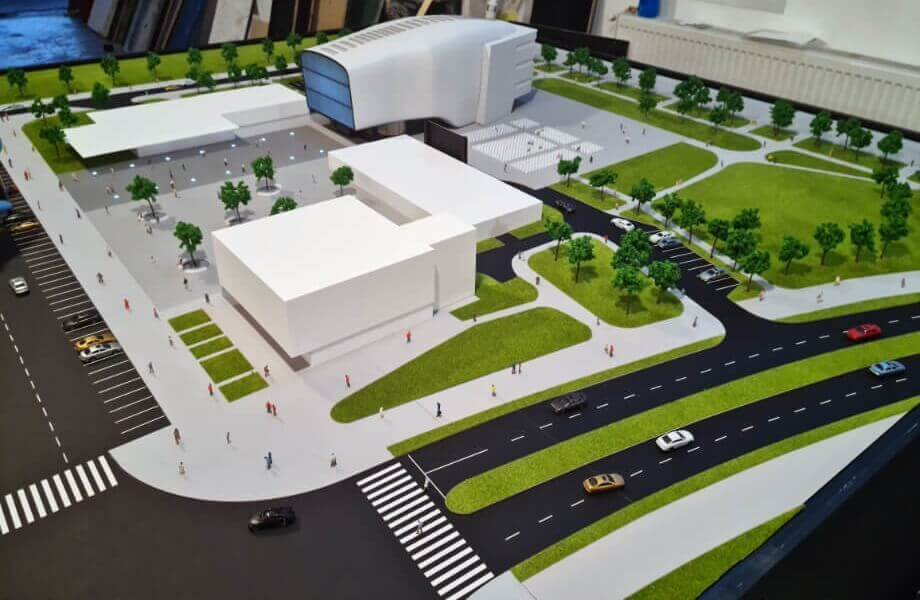 Cultural Center Scale Model