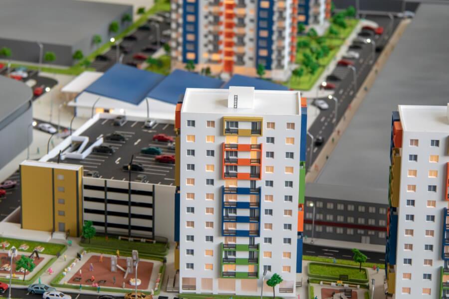 Real Estate Scale Model