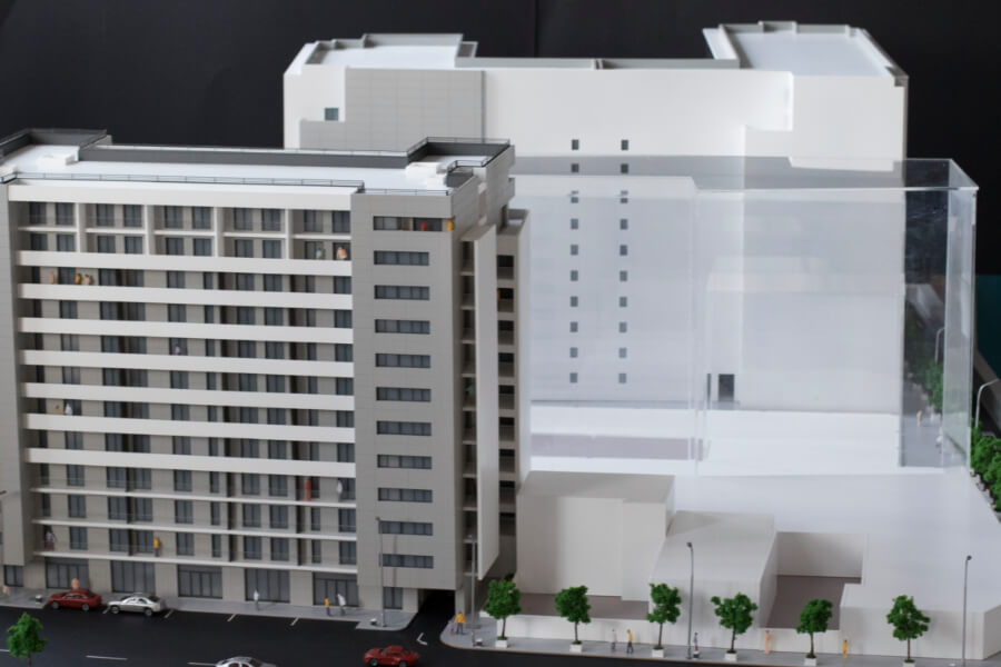 Residential 3D scale model